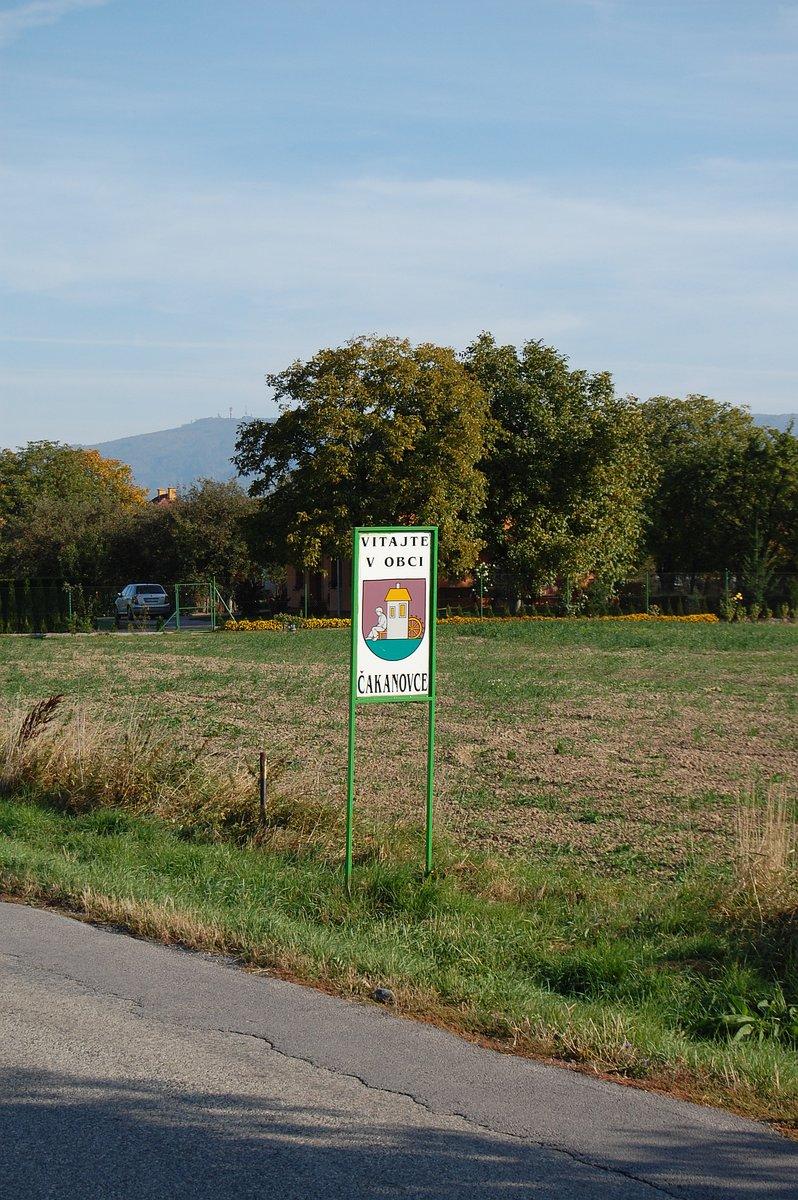 Obec Čakanovce